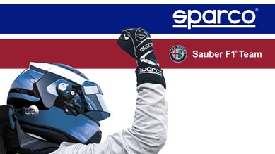 Alfa Romeo Sauber, Sparco nuovo partner tecnico