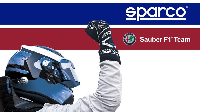 Sparco Official Partner Alfa Romeo Sauber F1 Team