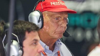Formula 1, Lauda dimesso dall'ospedale