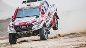 Dakar, il desiderio comune di Toyota e Alonso