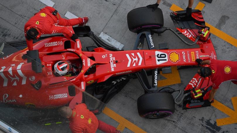 F1, La Ferrari 2019 ha superato i crash test obbligatori