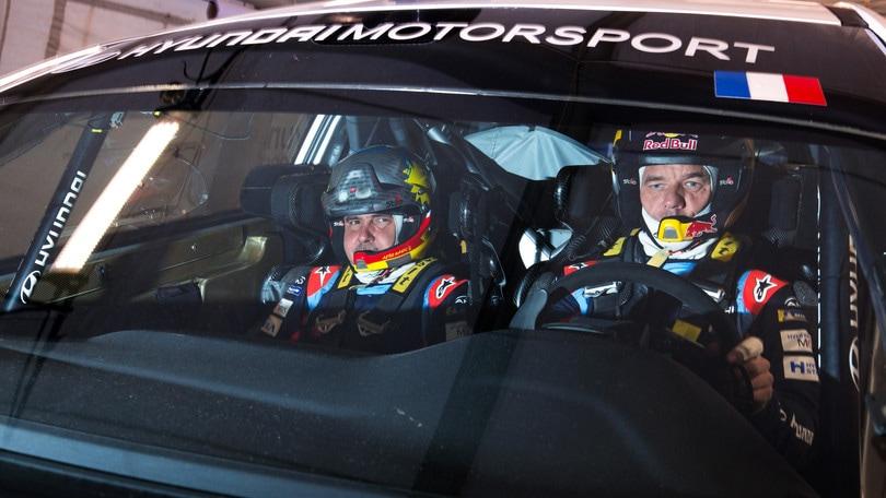 Loeb, 350 km di test alla vigilia di Montecarlo