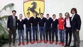 Ferrari, inizia l'attività 2019 della Driver Academy