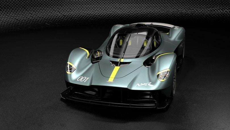 Aston Martin Valkyrie AMR Track Performance, voglia di pista
