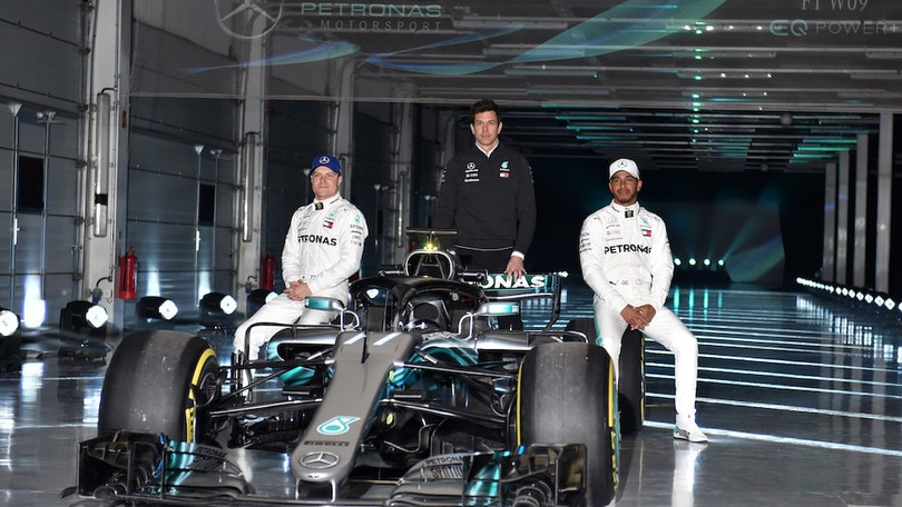 F1, la nuova Mercedes arriva il 13 febbraio