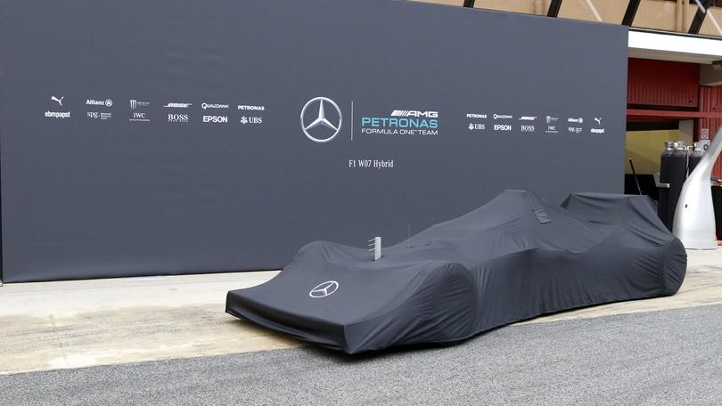 F1: Mercedes svelerà monoposto 2019 il 13 febbraio