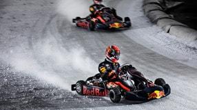 Video: Verstappen e Gasly sul ghiaccio