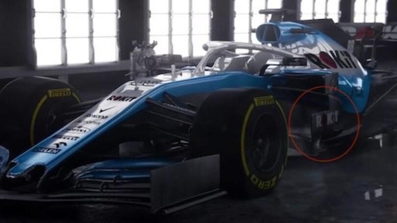 F1 2019: Williams, tolti i veli alla nuova livrea