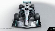 Presentazione Mercedes W10: foto