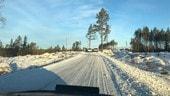 Rally di Svezia, la neve si scioglie