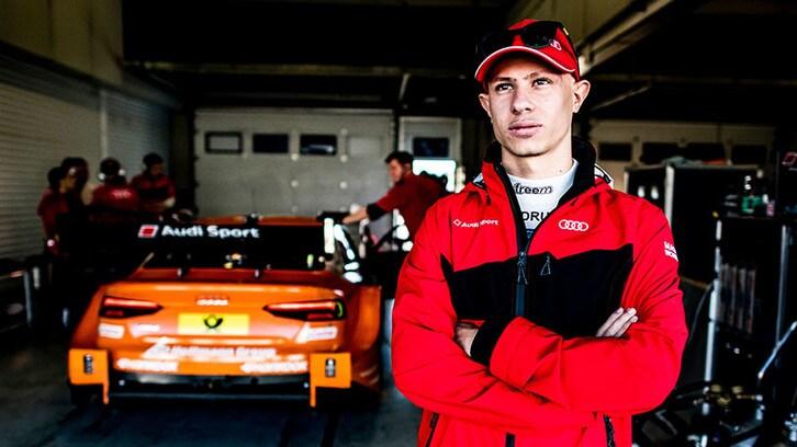 Mattia Drudi è pilota ufficiale Audi Sport con le GT