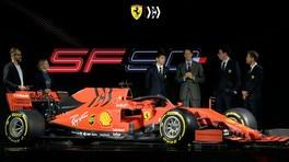 "Presentazione Ferrari SF90, John Elkann: ""Macchina bellissima e competitiva"""