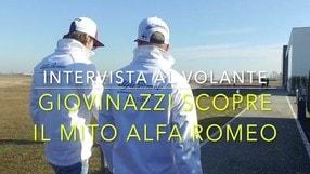 Video: Giovinazzi con il mito Alfa Romeo