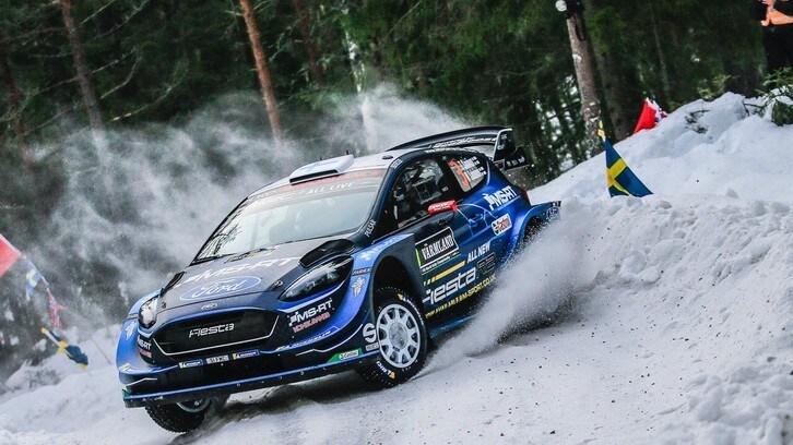 WRC, Rally di Svezia: Suninen leader a sorpresa