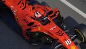 Formula 1, test Barcellona, day2: sempre Ferrari, con Leclerc
