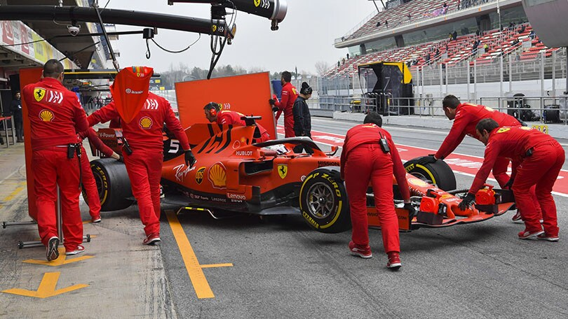 Test Formula 1, Day 4: Albon davanti a Ricciardo ed Hamilton