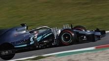 Mercedes W10, le novità introdotte nei test: foto