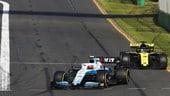 GP Australia, Kubica tra contatti e una Williams che perde pezzi