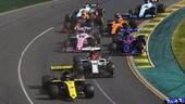 GP Australia, Abiteboul spiega le gare di metà gruppo a Ricciardo