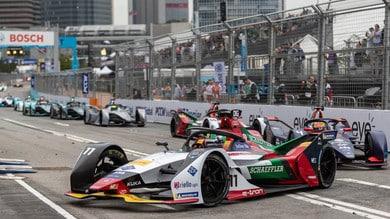 Formula E Sanya, Audi a caccia del podio