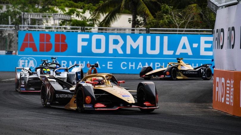 ePrix Sanya, Vergne accende la corsa e trionfa