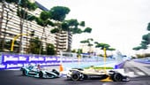 ePrix di Roma, che lotta tra Evans e Lotterer