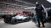 F1: Mercedes, com'è nata la decisione del doppio pit Hamilton-Bottas