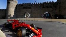 F1, GP Azerbaijan: libere 2 con le Ferrari al top FOTO