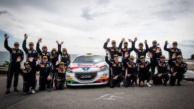 Motorsport Academy di Peugeot Italia: Andreucci sale in cattedra
