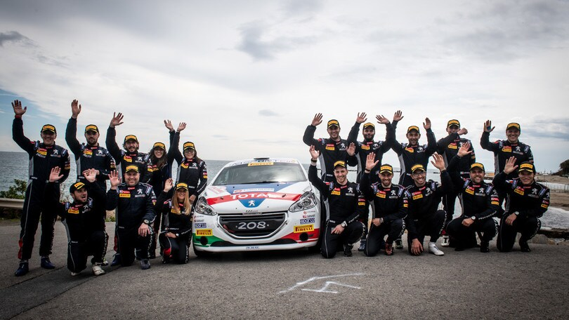 Calendario Rally Sicilia 2020.Motorsport Academy Di Peugeot Italia Andreucci Sale In