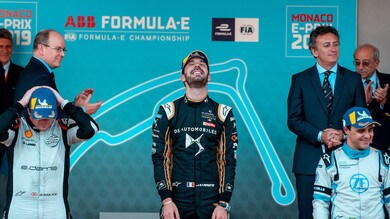 ePrix Monaco, Vergne:
