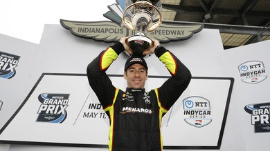 IndyCar: fantastica rimonta sul bagnato per Pagenaud
