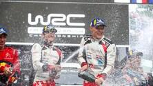 WRC 2019, Rally del Cile: le foto della vittoria di Tanak