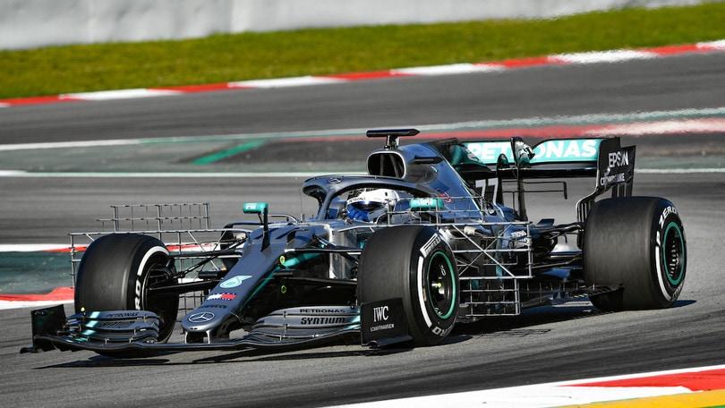 F1:test Barcellona, Bottas il più veloce