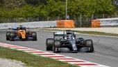F1, test Barcellona: conferma Mercedes e Ferrari al lavoro nel day2