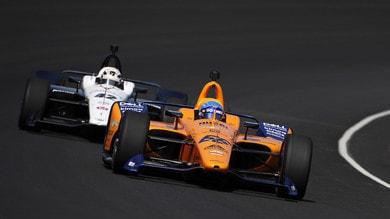 Indy 500: Alonso a muro nelle libere, sfida tutta in salita