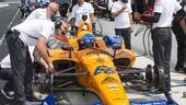 Indy 500, altra giornata di stop per Alonso e McLaren
