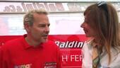 Jacques Villeneuve a Misano nel GT Endurance