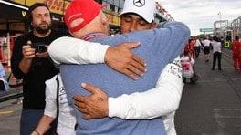 Niki Lauda, omaggio a un mito: FOTO