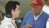 Wolff, GP Monaco: Niki e Lewis, il legame dei campionissimi