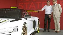Audi R8 LMS GT2: le foto della presentazione a Goodwood