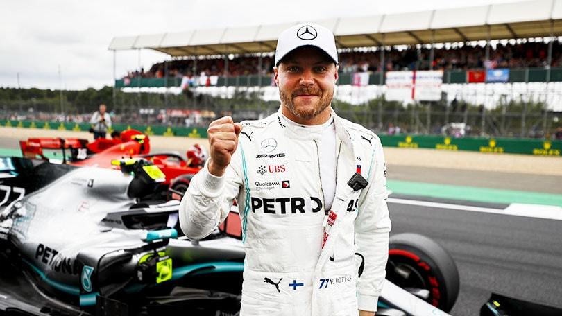 Bottas di un soffio più veloce di Hamilton