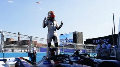 ePrix New York: Vergne campione, Frijns diverte e vince