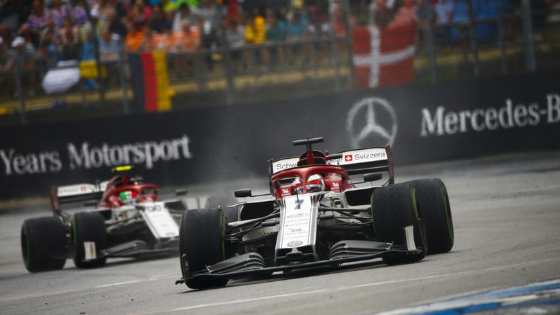 F1: Gran Premio di Germania: Raikkonen-Giovinazzi penalizzati