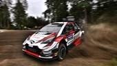 WRC, Rally di Finlandia: shakedown, Tanak il più veloce