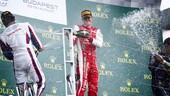 F2: Mick Schumacher, prima vittoria all'Hungaroring!