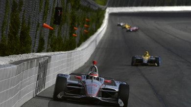 IndyCar: a Pocono vince Power tra incidenti e pioggia