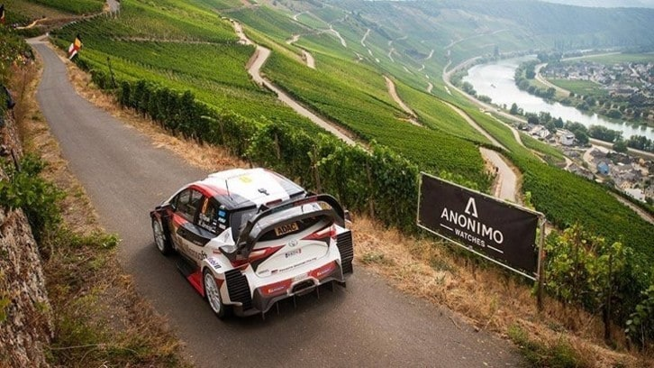 WRC, Rally di Germania al via
