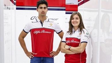 Alfa Romeo, al Paul Ricard test per Correa e Calderon