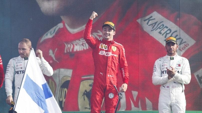 GP Italia 2019, il trionfo di Leclerc: FOTO